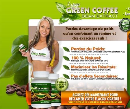 perte de poids avec Supra Green Coffee