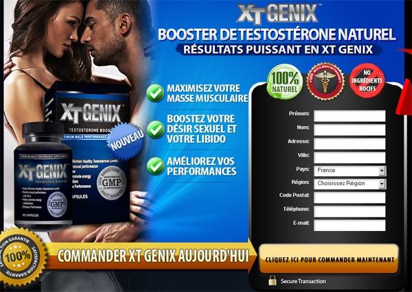 XT-Genix PLUS DE TESTOSTÉRONE
