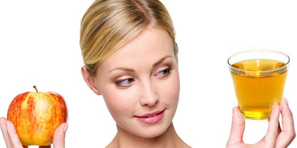 Le vinaigre de cidre normal régule le pH de votre peau