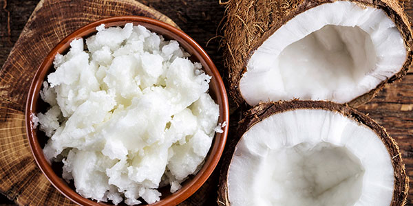La chair de la noix de coco